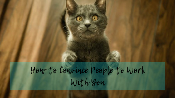 How to Convince People to Work With You